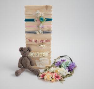 headbands fleuris et doudous