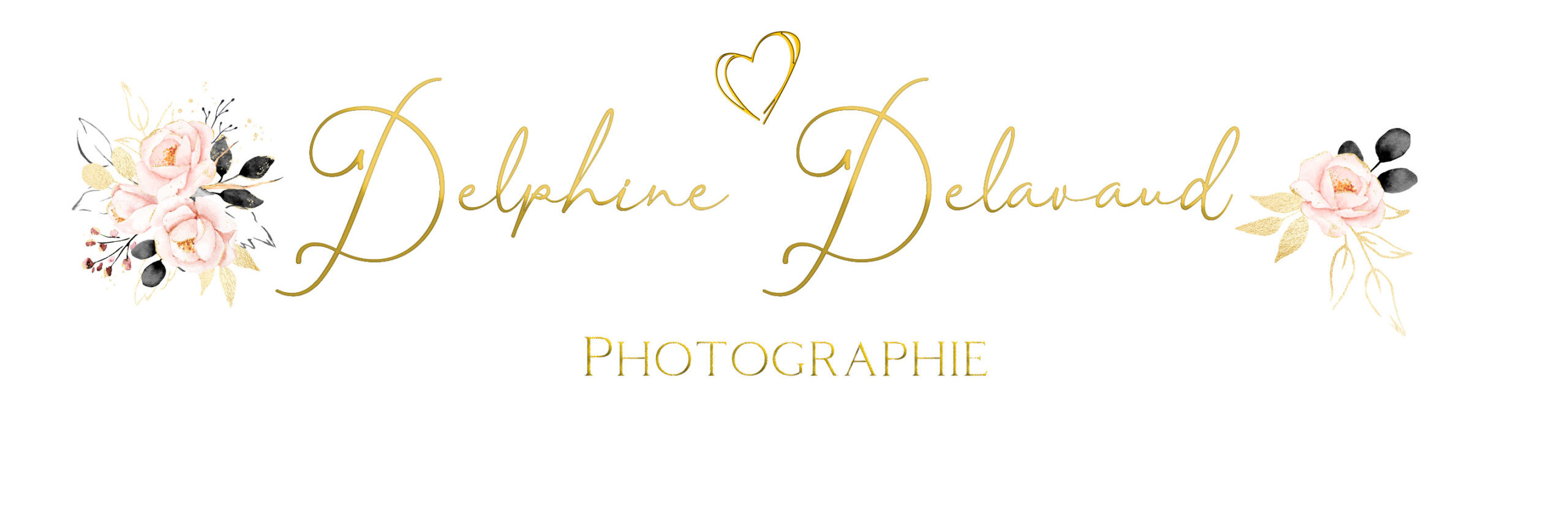 Logo for Delphine Delavaud Photographie