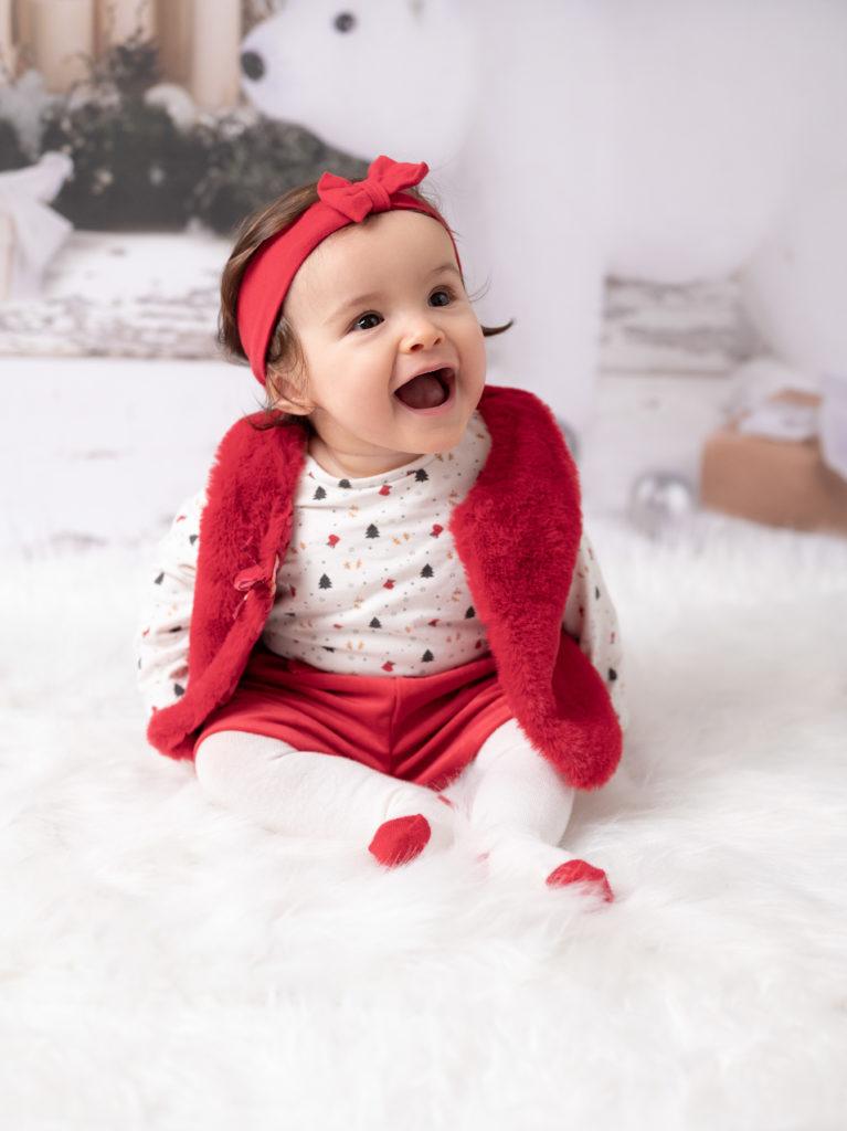 bébé de 6 mois sourire photographe bébé enfant Houilles Yvelines la Défense